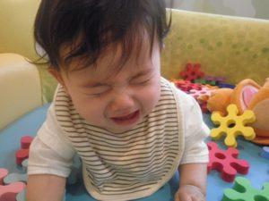 「ママが大好きだから泣いちゃうんだよね~!」